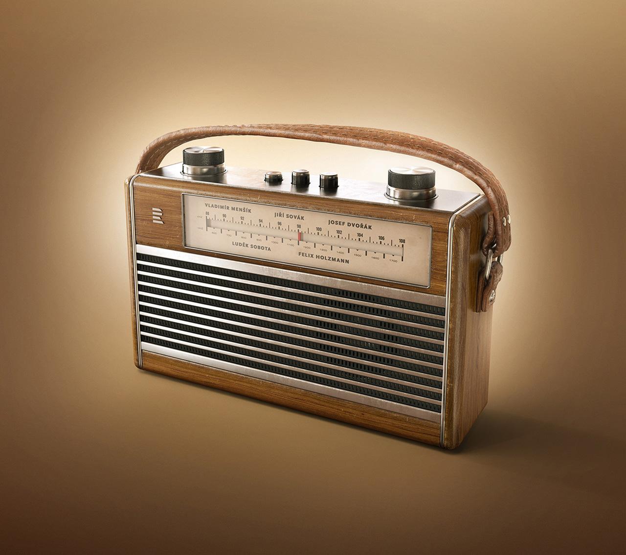 Radio-Wooden